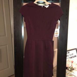 Bar III short sleeve dress